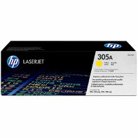 Hewlett Packard HP CE412A ( HP 305A Yellow ) Laser Toner Cartridge
