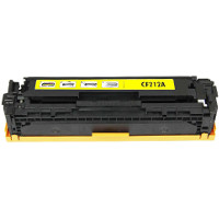 Hewlett Packard HP CF212A ( HP 131A Yellow ) Compatible Laser Toner Cartridge
