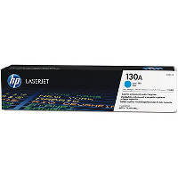 Hewlett Packard HP CF351A ( HP 130A Cyan ) Laser Toner Cartridge