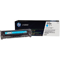 Hewlett Packard HP CF381A ( HP 312A cyan ) Laser Toner Cartridge