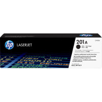 Hewlett Packard HP CF400A ( HP 201A Black ) Laser Toner Cartridge