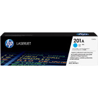 Hewlett Packard HP CF401A ( HP 201A Cyan ) Laser Toner Cartridge
