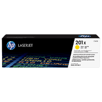 Hewlett Packard HP CF402X / HP 201X Yellow Laser Toner Cartridge