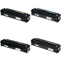 Compatible HP 201X Black / 201X Cyan / 201X Yellow / 201X Magenta Laser Toner Cartridge MultiPack