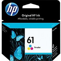 Hewlett Packard HP CH562WN ( HP 61 tri-color ) InkJet Cartridge