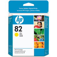 Hewlett Packard HP CH568A ( HP 82 Yellow ) InkJet Cartridge