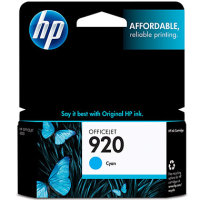 Hewlett Packard HP CH634AN ( HP 920 Cyan ) InkJet Cartridge