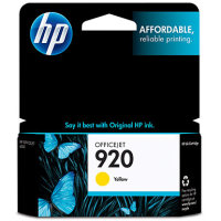 Hewlett Packard HP CH636AN ( HP 920 Yellow ) InkJet Cartridge