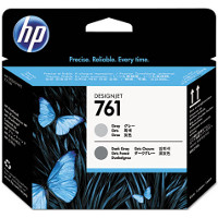 Hewlett Packard HP CH647A ( HP 761 Gray / Dark Gray ) InkJet Cartridge Printhead