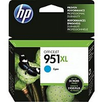 Hewlett Packard HP CN046AN ( HP 951XL Cyan ) InkJet Cartridge