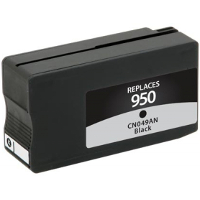 Hewlett Packard HP CN049AN / HP 950 Black Replacement InkJet Cartridge