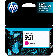 Hewlett Packard HP CN051AN ( HP 951 Magenta ) InkJet Cartridge