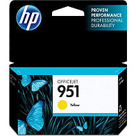 Hewlett Packard HP CN052AN ( HP 951 Yellow ) InkJet Cartridge