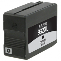 Hewlett Packard HP CN053AN / HP 932XL Black Replacement InkJet Cartridge