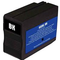 Hewlett Packard HP CN053AN ( HP 932XL Black ) Remanufactured InkJet Cartridge