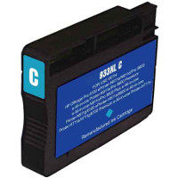 Hewlett Packard HP CN054AN ( HP 933XL Cyan ) Remanufactured InkJet Cartridge