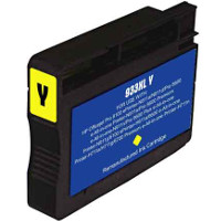 Hewlett Packard HP CN056AN ( HP 933XL Yellow ) Remanufactured InkJet Cartridge