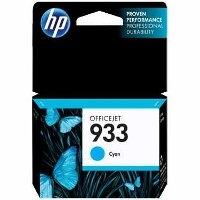 Hewlett Packard HP CN058AN ( HP 933 Cyan ) InkJet Cartridge