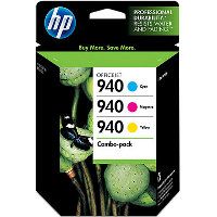 Hewlett Packard HP CN065FN ( HP 940 ) InkJet Cartridge Value Pack