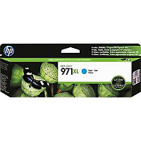 Hewlett Packard HP CN626AM ( HP 971XL cyan ) InkJet Cartridge