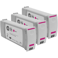 Hewlett Packard HP CR252A ( HP 771 Magenta ) InkJet Cartridges (3/Pack)