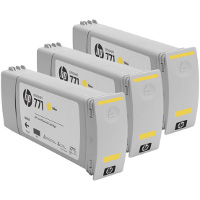 Hewlett Packard HP CR253A ( HP 771 Yellow ) InkJet Cartridges (3/Pack)