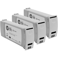 Hewlett Packard HP CR256A ( HP 771 Photo Black ) InkJet Cartridges (3/Pack)