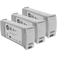 Hewlett Packard HP CR257A ( HP 771 Light Gray ) InkJet Cartridges (3/Pack)