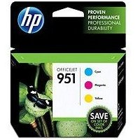 Hewlett Packard HP CR314FN ( HP 951 ) InkJet Cartridge Value Pack