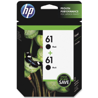 Hewlett Pack CZ073FN ( HP 61 Twin Pack ) InkJet Cartridges