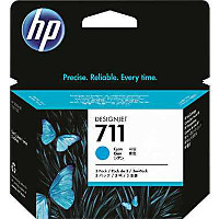Hewlett Packard HP CZ130A ( HP 711 cyan ) InkJet Cartridge