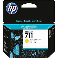 Hewlett Packard HP CZ132A ( HP 711 yellow ) InkJet Cartridge