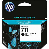Hewlett Packard HP CZ133A ( HP 711XL black ) InkJet Cartridge (80 ml)