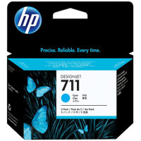 Hewlett Packard HP CZ134A ( HP 711 cyan ) InkJet Cartridges (3/Pack)