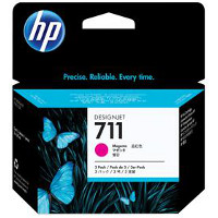 Hewlett Packard HP CZ135A ( HP 711 magenta ) InkJet Cartridges (3/Pack)