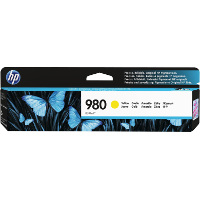 Hewlett Packard HP D8J09A ( HP 980 Yellow ) InkJet Cartridge