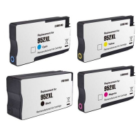 Remanufactured HP 952XL Black / 952XL Cyan / 952XL Magenta / 952XL Yellow Inkjet Cartridge MultiPack