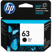 Hewlett Packard HP F6U62AN / HP 63 Black Inkjet Cartridge