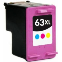 Remanufactured HP HP 63XL Tri-Color ( F6U63AN ) Multicolor Inkjet Cartridge