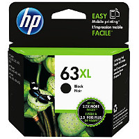 Hewlett Packard HP F6U64AN / HP 63XL Black Inkjet Cartridge
