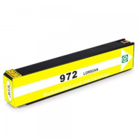 Remanufactured HP HP 972Y ( HP 972A Yellow ) Yellow Inkjet Cartridge