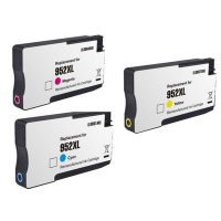 Remanufactured HP 952XL Cyan / 952XL Magenta / 952XL Yellow Inkjet Cartridge MultiPack