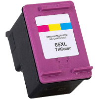 Remanufactured HP HP 65XL Color ( N9K03AN ) Multicolor Inkjet Cartridge