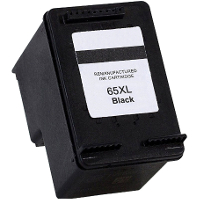 Remanufactured HP HP 65XL Black ( N9K04AN ) Black Inkjet Cartridge (Made in North America; TAA Compliant)
