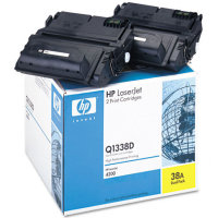 Hewlett Packard HP Q1338D ( HP 38A ) Dual Pack Laser Toner Cartridges
