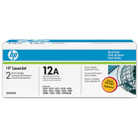 Hewlett Packard HP Q2612AD ( HP 12A ) Laser Toner Cartridge Dual Pack