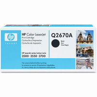 HP Q2670A Black Laser Toner Cartridge