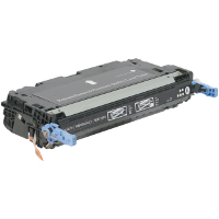 Compatible HP Q6470A Black Laser Toner Cartridge (Made in North America; TAA Compliant)