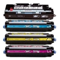 Hewlett Packard HP Q6470A / Q7581A / Q7582A / Q7583A Compatible Laser Toner Cartridge MultiPack