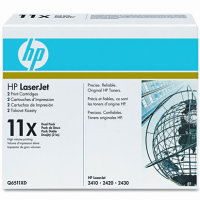 Hewlett Packard HP Q6511XD ( HP 11X ) Laser Toner Cartridges